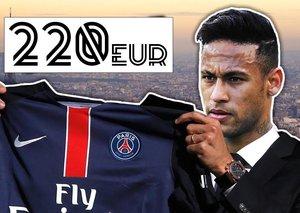 PSG set to pay record fee for Neymar Jr.