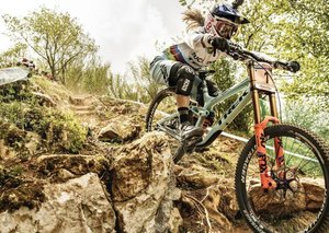 The girl who took on the hardest, fastest course in Downhill Mountain Biking