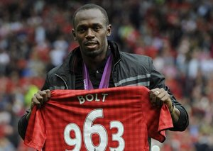 Will Usain Bolt start a footballing career?
