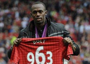 Will Usain Bolt start a footballing career?