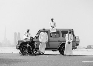 The gnarliest way to sightsee around Dubai