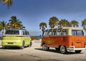 VW's new self-driving electric van: ID Buzz Microbus