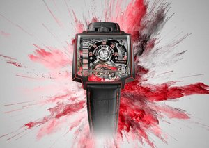 Hautlence Vortex Gamma: a technicolour complication on your wrist