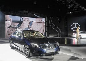 Mercedes-Benz 2017 S-Class regional launch
