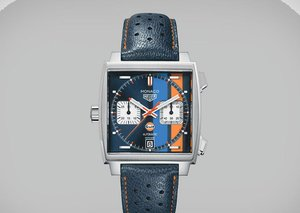 TAG Heuer Monaco Gulf Special Edition Watch