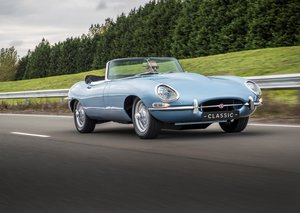 Jaguar resurrects the E-type