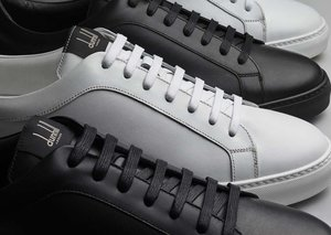 Dunhill reimagines the tennis shoe