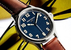 Altitude adjustment: Patek Philippe Ref.5522A pilot's watch
