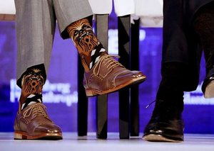 How to buy Justin Trudeau's Chewbacca socks in Dubai