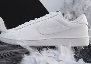 Nike Flyleather sneakers are made of responsible fabric