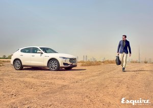 Explore the urban playground with Maserati's Levante