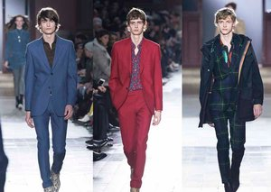 Entire Paul Smith Fall Winter 2017 collection