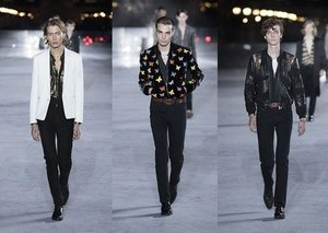 Every Look from Saint Laurent's summer 2018 show
