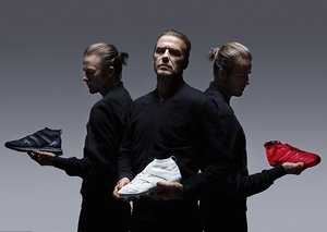 Adidas celebrate 20-year partnership with footballing icon David Beckham