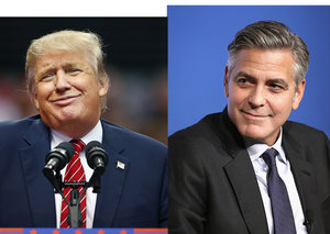 What happened when Donald Trump met George Clooney
