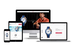 Omega gets with the times, launches online boutique