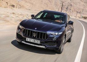 The Maserati Levante gets the Zegna treatment