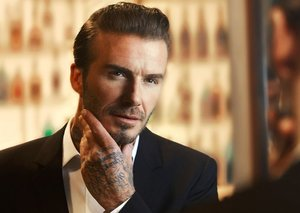 David Beckham's grooming secrets