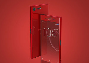 Win a Sony Xperia XZ Premium Rosso right here