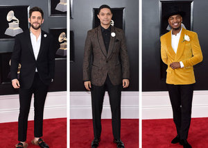 The best dressed men at the 2018 Grammy Awards
