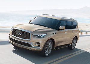 Infiniti's new QX80 has just driven onto roads in Dubai
