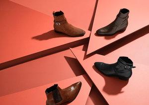 Embrace the winkle-picker boots