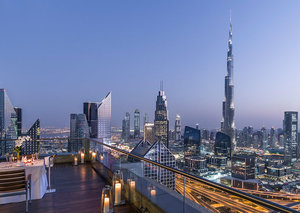 Valentine's Day with a view at the Shangri-La Dubai