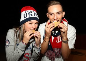 Olympians are eating all the Korean barbecue at the Winter Olympics