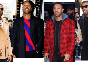Michael B. Jordan's promotional style game is on point