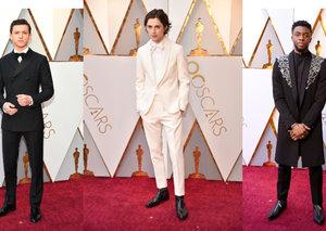 Best-dressed men of the 2018 Oscars