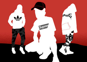 What is a 'hypebeast' and where do you find them?