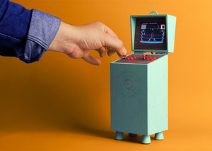 Is your Atari console a bespoke-made cabinet?