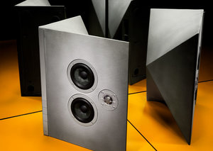 These speakers are made out of cement