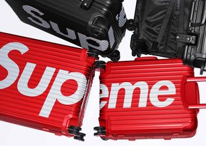 Supreme x Rimowa luggage is hype AF