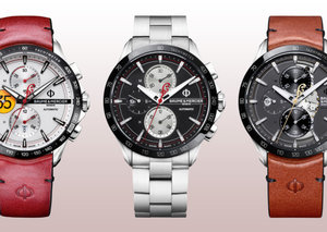 Baume & Mercier launches three limited-edition Indian Motorcycle chronographs