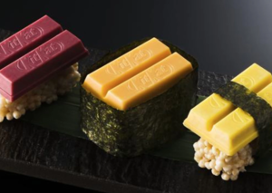 What does Kit Kat Sushi taste like?
