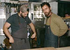 Justin Theroux says New York is the best city for good food