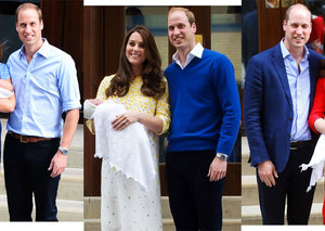Prince William has a new baby but the same old Dad style