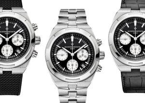 Vacheron Constantin's new panda dial watches are flippin' gorgeous