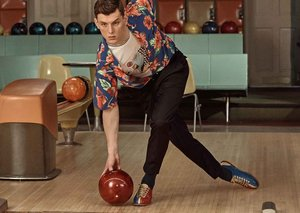 Prada and Mr Porter just made bowling stylish again