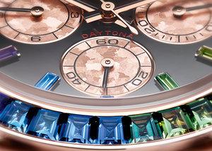 Rolex's Rainbow Daytona gets a shiny new update