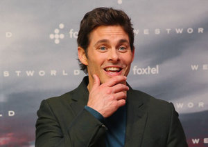 James Marsden has textbook 'business casual' style