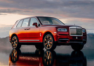 Rolls-Royce's new SUV is here (with help from the UAE)