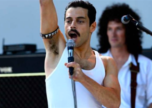 Rami Malik looks incredible as Freddie Mercury in Bohemian Rhapsody