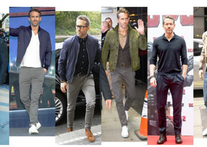 Ryan Reynolds is nailing his style on the 'Deadpool 2' press tour