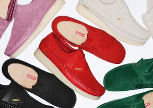 Even Clarks is now working with Supreme