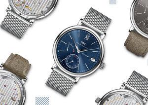 When new straps meet classic watches: IWC's Portofino hand-wound