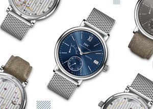 When new straps meet classic watches: IWC's Portofino hand-wound
