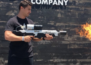 People have begun picking up Elon Musk's flamethrowers