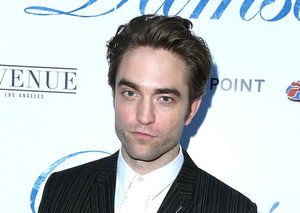 Robert Pattinson upgraded the classic black suit